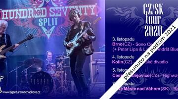 Hundred  Seventy Split - přesun turné na podzim 2021